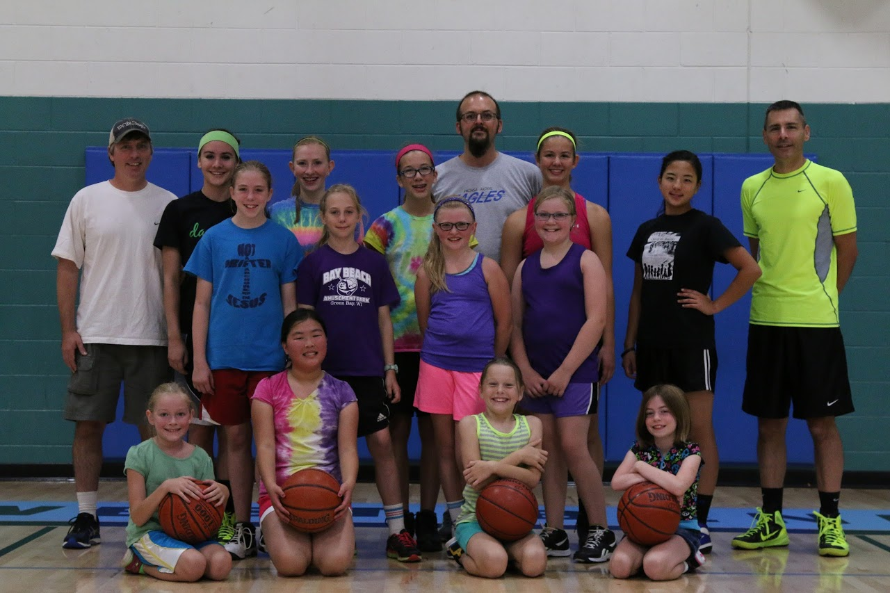 Grade School Girls Basketball Camp Held!