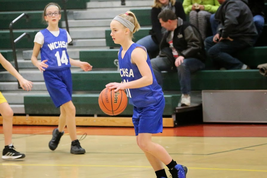 Grade School Girls Win Against Trinity Wildcats